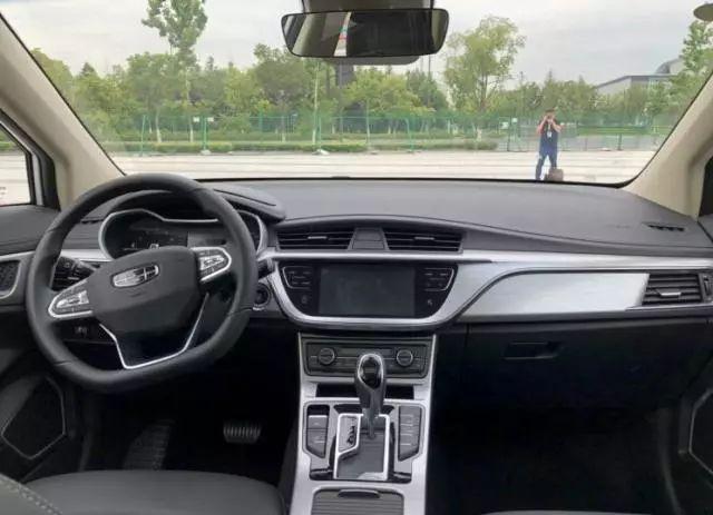 2019款吉利帝豪GS实车亮相,外形小改,颜值大增,新增1.5T,要火