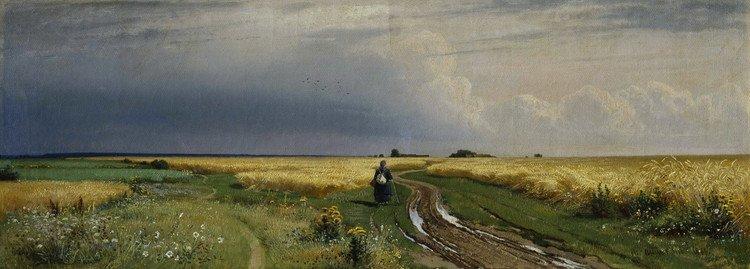 著名风景画家希施金(ivan ivanovich shishkin)绘画作品欣赏二