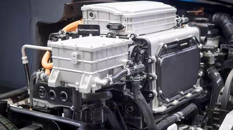 『现代汽车研发的氢燃料电池系统』