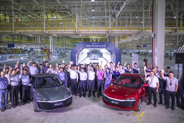 零跑S01首台量产车下线,首批车主将于6月正式开启交付