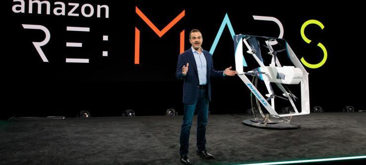 亚马逊公开新版配送无人机,续航里程可达 15 英里