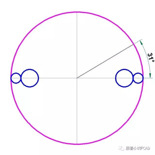 cad各种圆和相切关系 ↑↑↑ (蓝字猛戳) 1 命令输入过程参考 命令图片