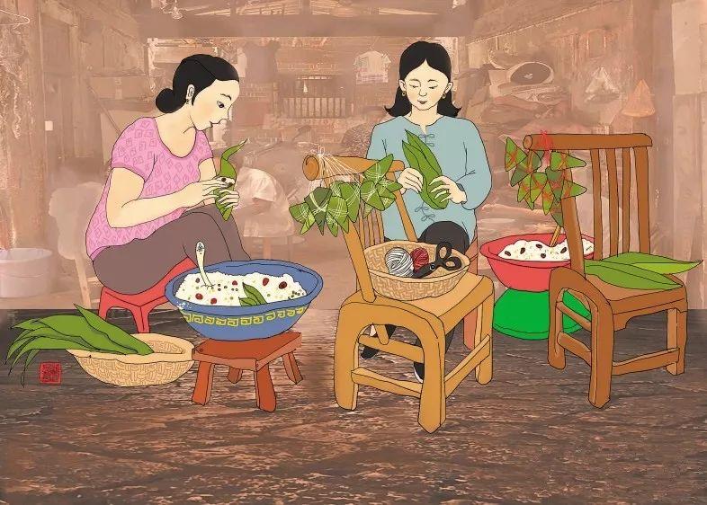 减肥能吃粽子吗图片