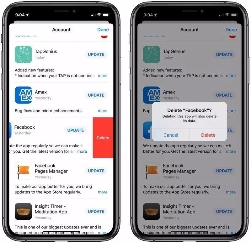 iOS 13新功能:加入卸载应用新方法