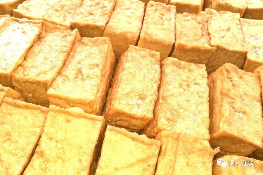 长汀客家特色美食小吃:三角豆腐饺