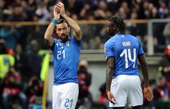 意大利VS希腊前瞻:榜首大战 蓝衫军团冲击4连胜
