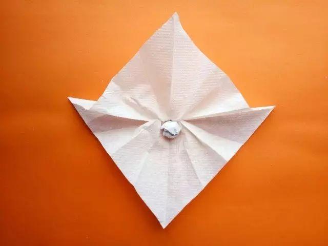 【纸巾手工】幼儿园手工diy纸巾手工,简单易学,漂亮极