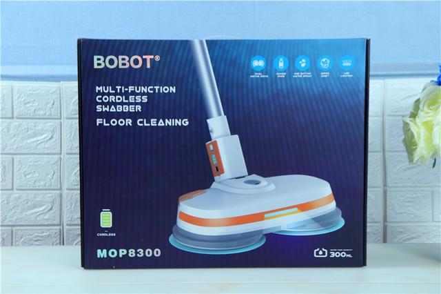原创                懒人神器,做家务如此轻松!BOBOT无线电动拖地机体验