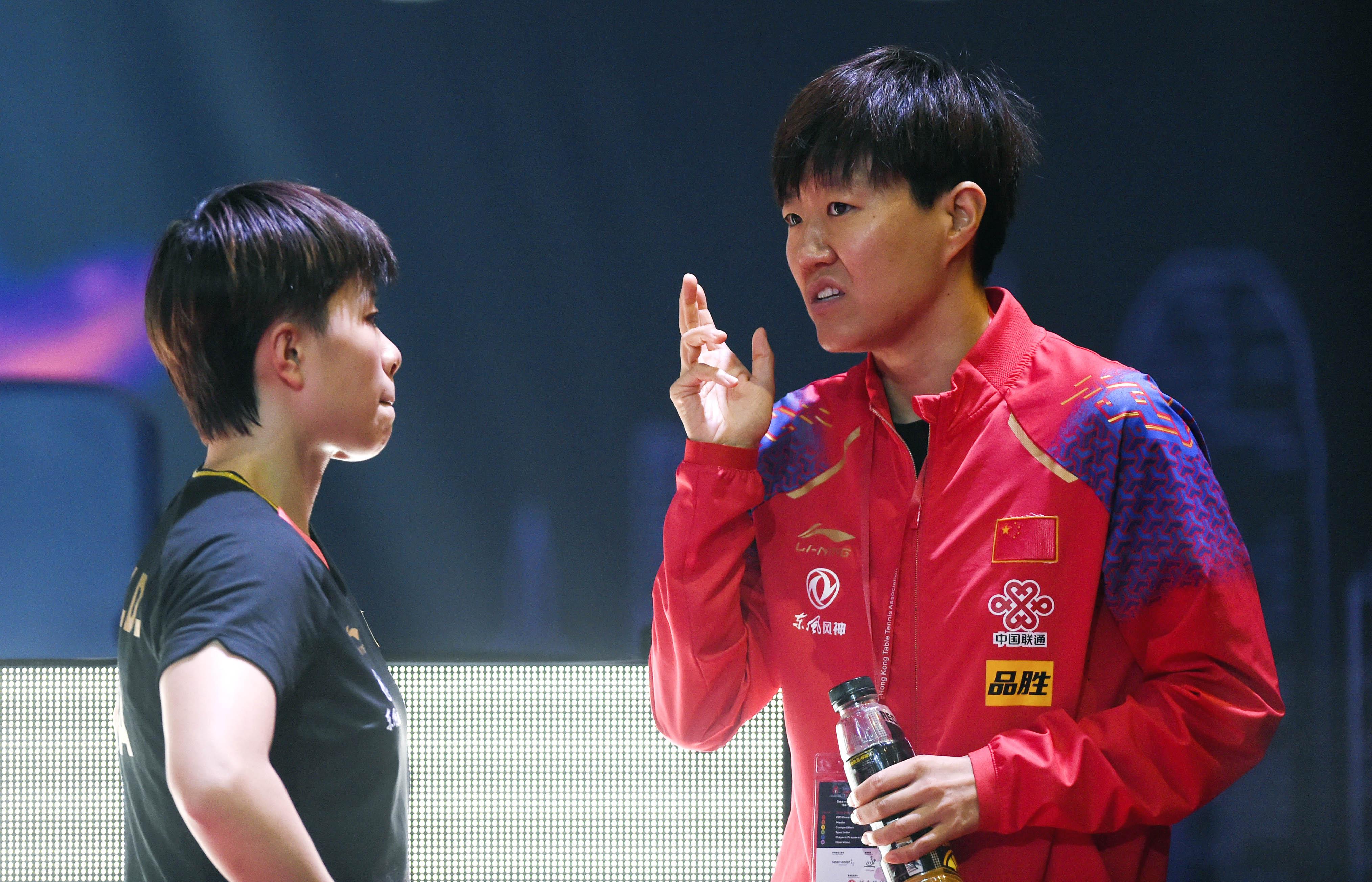【组图】                     乒乓球——香港公开赛:王艺迪晋级女单半决赛
