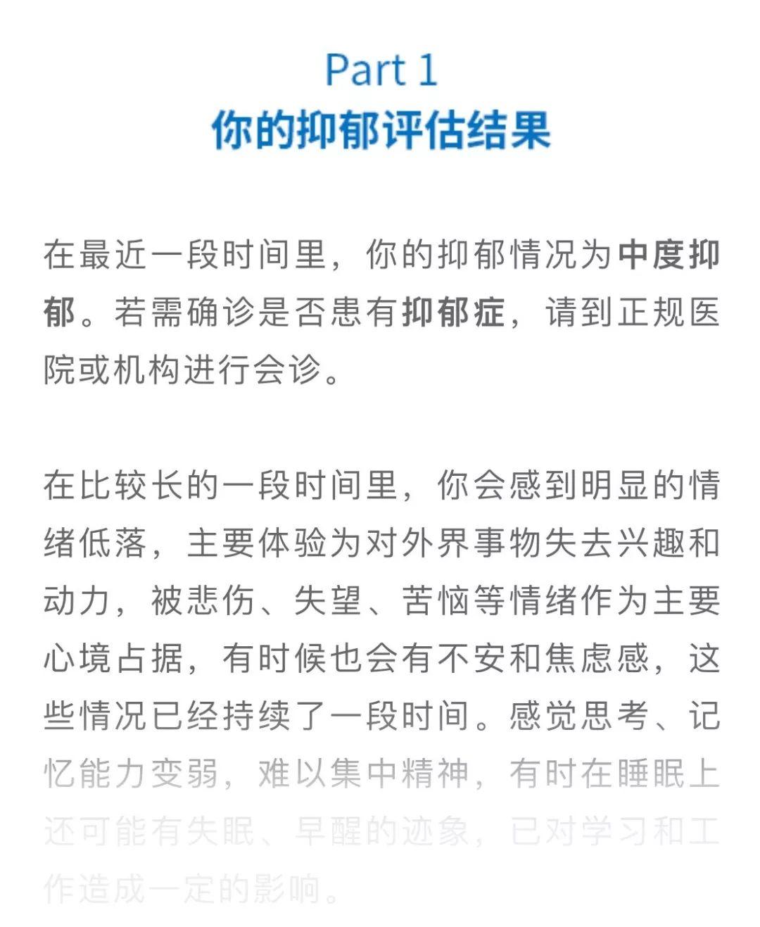 抑郁症官方测试题 - 心理减压 - 民福康健康(m.39yst.com)