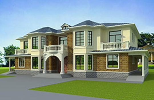 5间2层别墅设计图