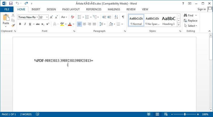 微软警告:发现Office漏洞攻击