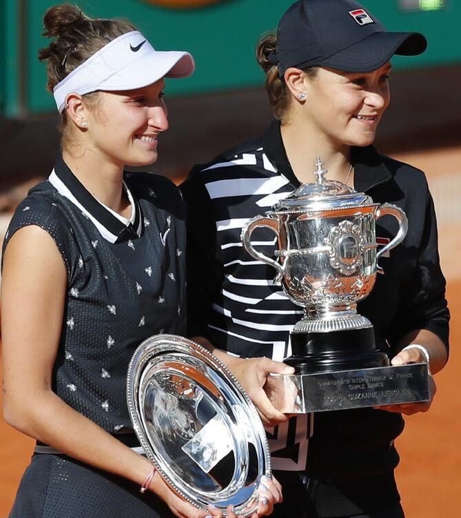 WTA排名:大阪直美占据榜首 巴蒂法网夺冠升至第二