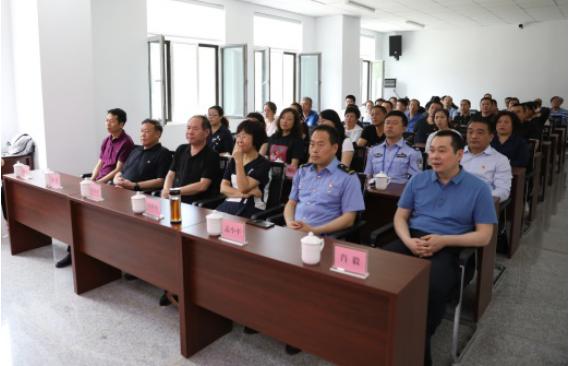 太原市双塔陵园召开道德讲堂志愿服务专场
