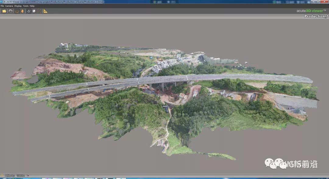 倾斜摄影实景三维模型与BIM结合在铁路桥梁施工中的应用