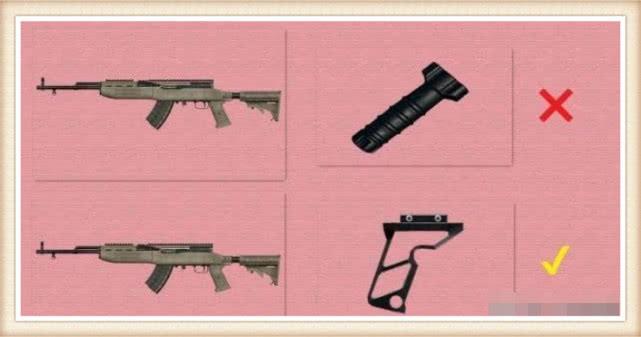 绝地求生 这5把枪的配件如果使用错误,威力就会降低一半
