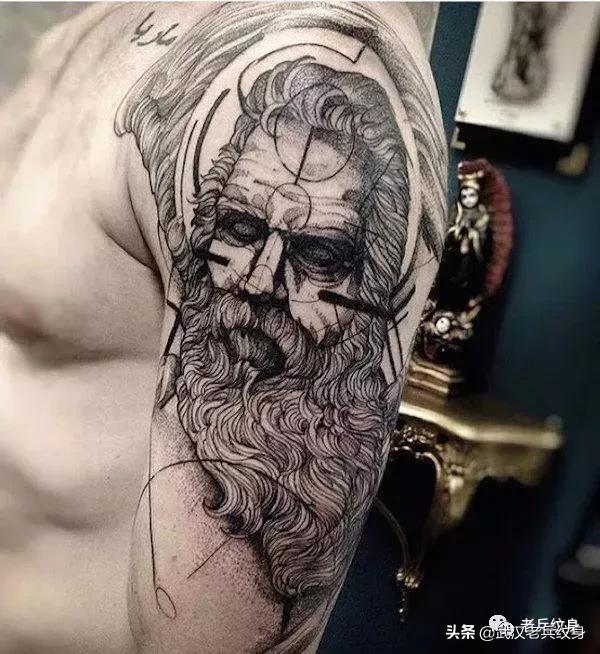 纹身素材 古希腊神话人物 奥德修斯图片