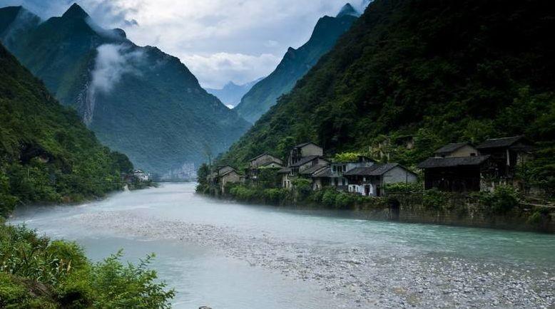 巫溪白马中学 我心中最美的河