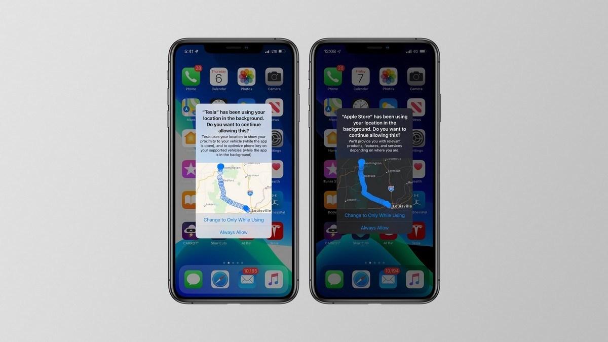 苹果iOS 13将告知用户,哪些应用程序正在跟踪您的位置