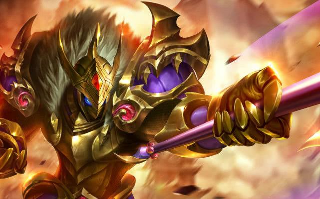 王者荣耀:游戏中最凶残的英雄,看见就赶紧跑,要不屏幕就黑了!