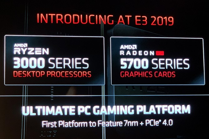 AMD发布7nm工艺Radeon RX 5700系列显卡 出货时间和价格定了