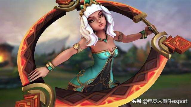礹/&�-a:+�_LOL新英雄奇亚娜美术设计遭国外玩家吐槽:像极了中国的劣质手