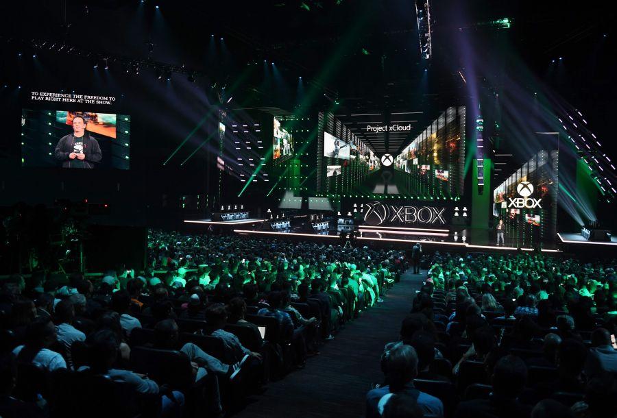 微软XboxE3电子娱乐展展前发布会在洛杉矶举行