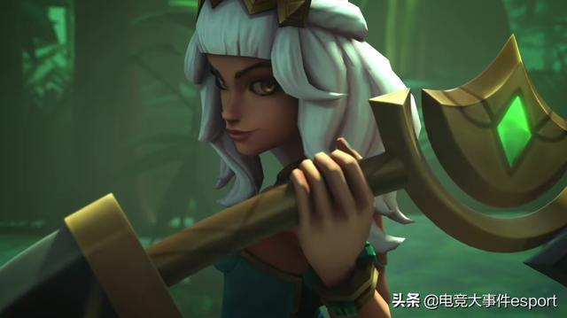 LOL新英雄奇亚娜美术设计遭国外玩家吐槽:像极了中国的劣质手游