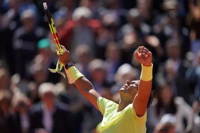 纳达尔四盘力克蒂姆封王 单项大满贯12冠称霸历史