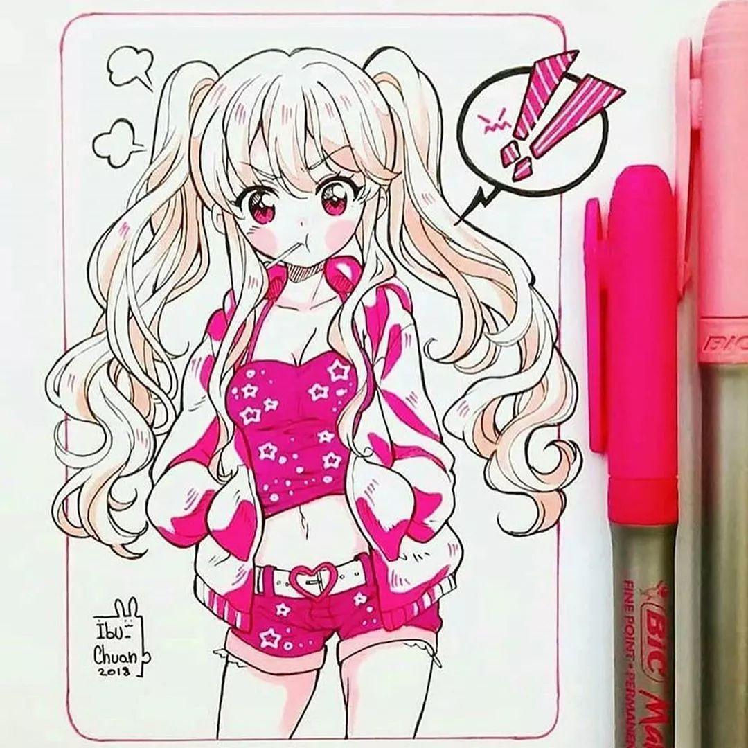日本超级色的邪恶漫画_17岁少女的漫画:每一个小姐姐我都想追求!