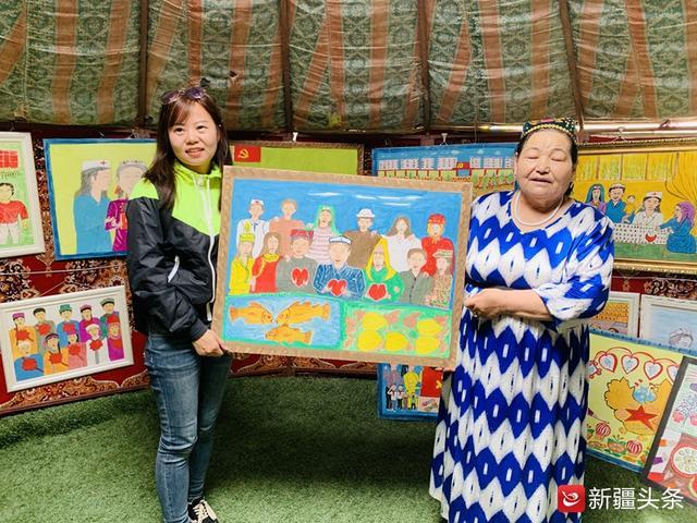 梵高奶奶 办画展 看过的游客都点赞