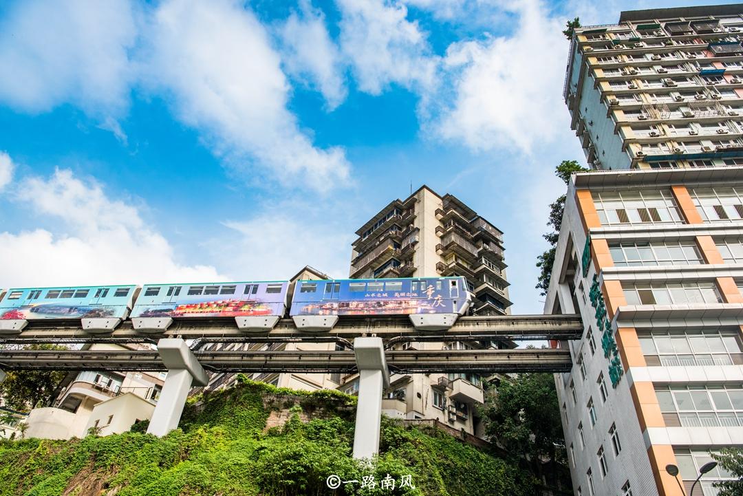 建在山上的中國城市,哪層是一樓分不清!