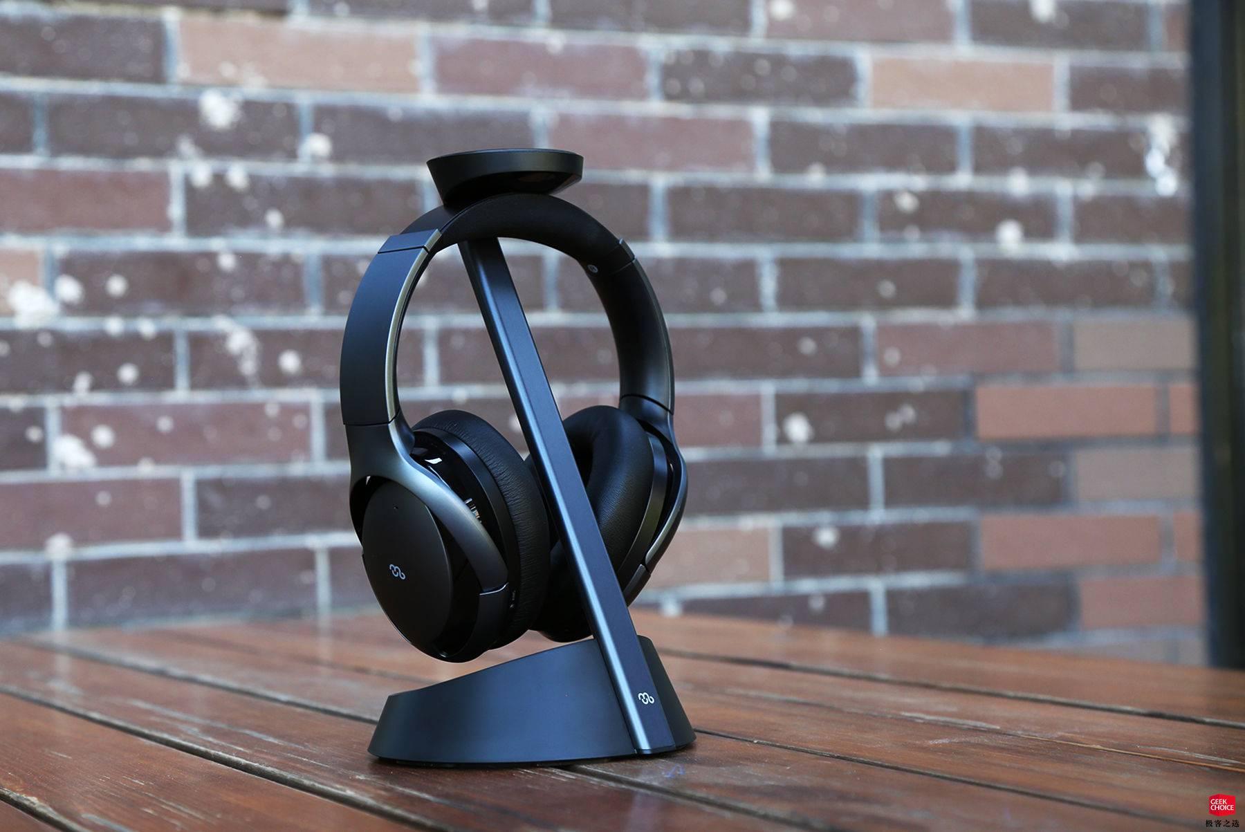 自带无线充电支架,这款耳机收纳方便更美观 | boway Mu6 智能降噪耳机图赏
