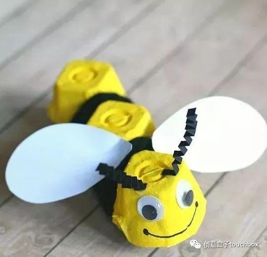 就可以创作出一个活灵活现的小蜜蜂啦图片
