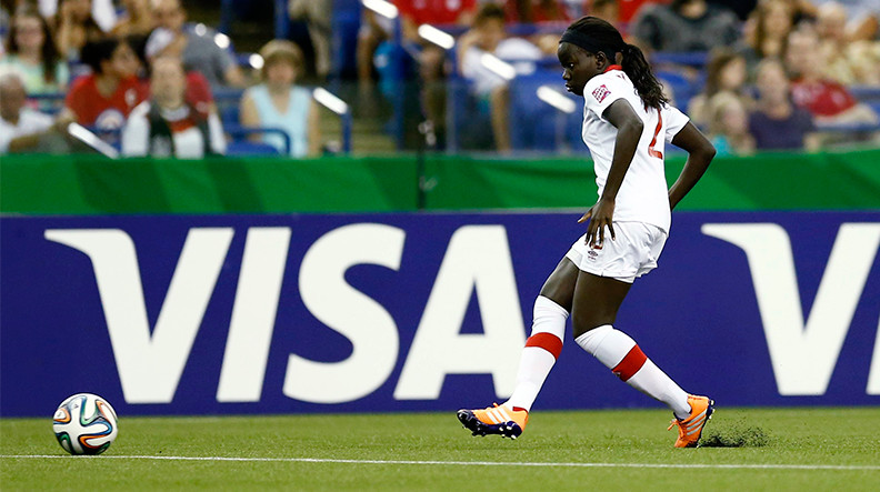 讲更多女足的好故事,这是Visa的一个长期承诺