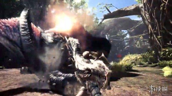 E3:《怪猎世界》冰原DLC预告、演示 讨伐轰龙展示