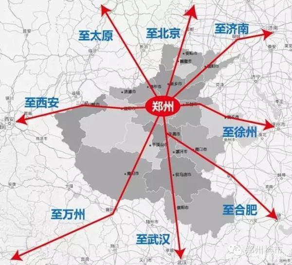 常住人口破千万的郑州地位又升级了