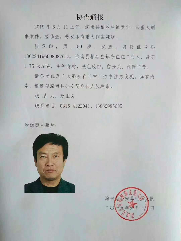 河北唐山市一男子涉嫌杀害2人后自杀(图1)