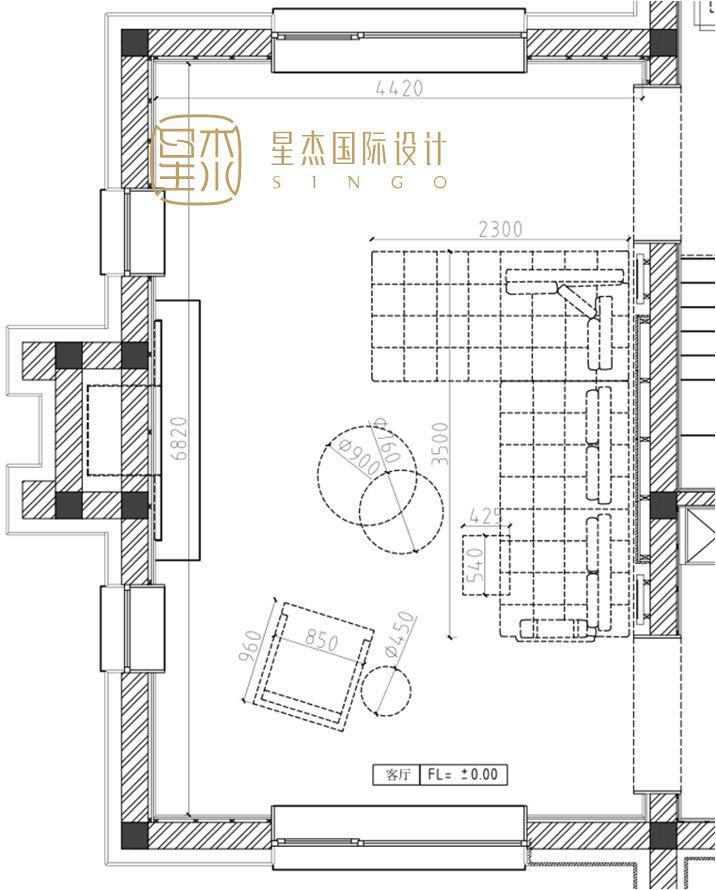 家具生产线平面图