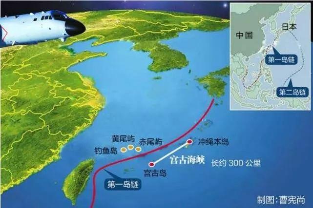 【解局】中國航母編隊再出第一島鏈!別急,會成常態的_宮古