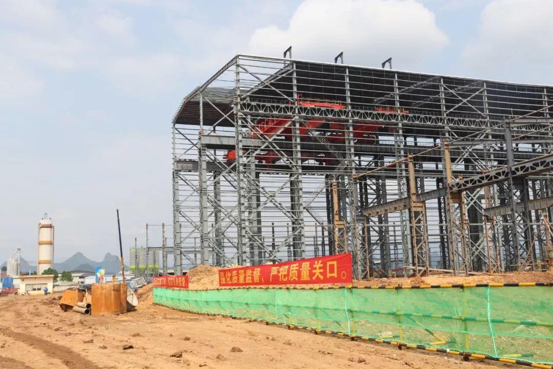 桂林国内首家先进短流程炼钢样板项目最新进展预计在9月份竣工