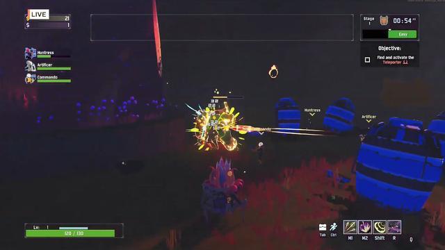 雨中冒險2》新角色試玩演示巨型機器射手Rex