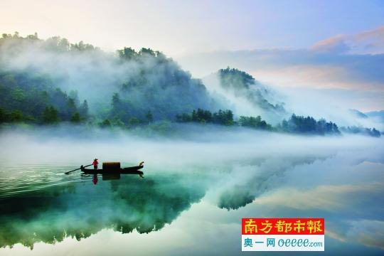 这个夏天来小东江赏雾漫奇观