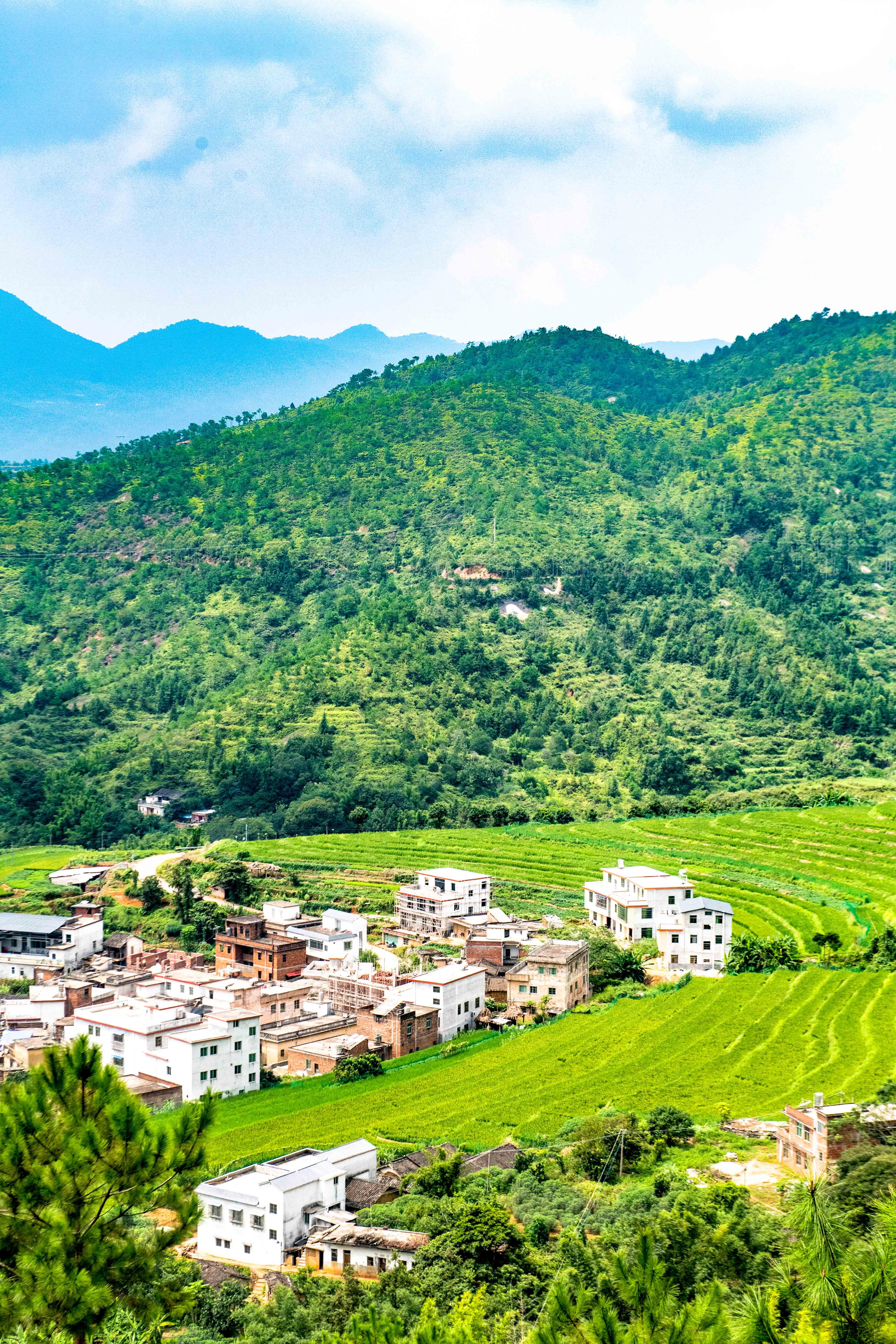 广东也私藏了千亩梯田,风景旖旎堪比世外桃源,多数人都没去过!