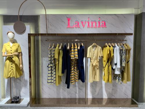 Lavinia 这一站 天津伊势丹等你