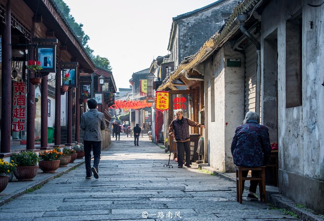 绍兴这条街道保留诗意的水乡风貌,不收门票安静写意!