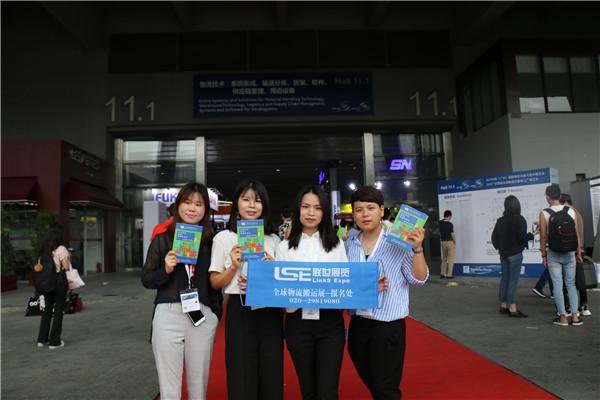 联世展览回顾2019年广州物流展现场展品展示