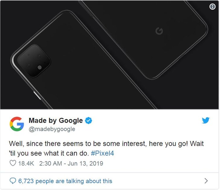 Google揭秘Pixel 4設計:確認雙後置錄影頭