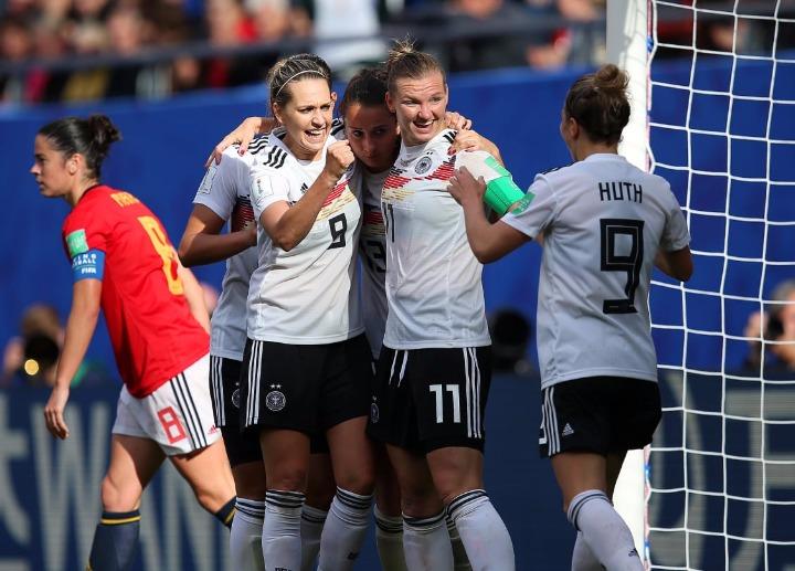 女足世界杯|德国队1:0小胜西班牙队_德国新闻_德国中文网