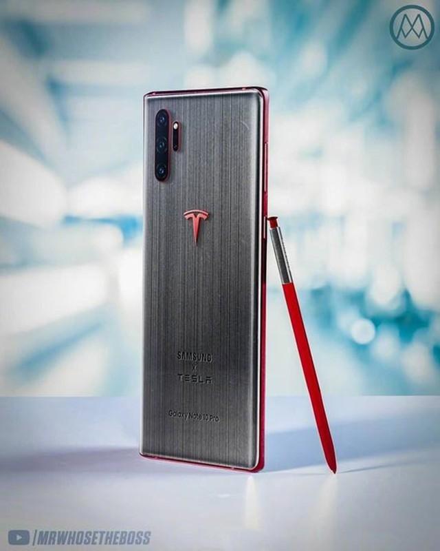 三星Note10特斯拉联名款流出 售价高达2万元